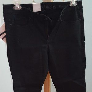 Calvin Klein Power Stretch black skinny jeans